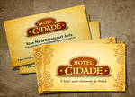 Hotel Cidade Business Card