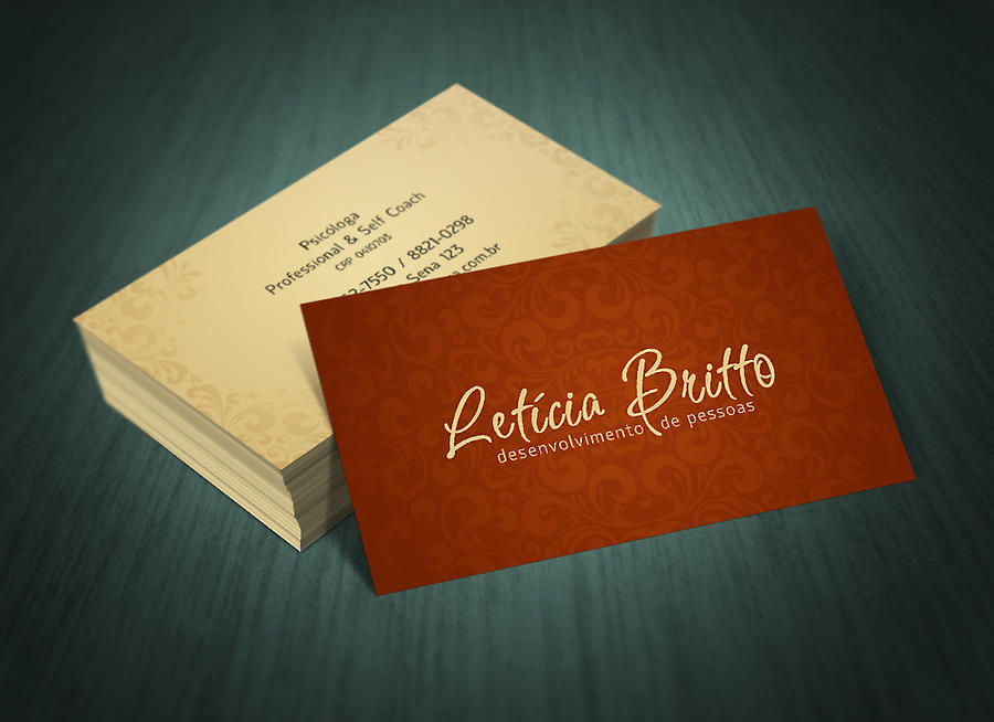 Professional and Self Couch - Business Card