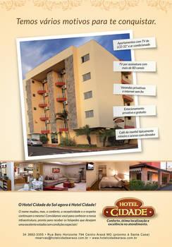 Hotel Cidade Flyer