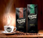 Coffee Gourmet da Serra - Logo and packaging