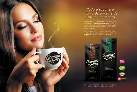 Coffee Gourmet da Serra Advertising