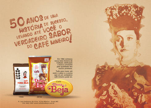Dona Beja - Brazilian Coffee Advertising