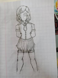 Girl  by BonziGaster