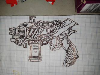 Transition gun  by BonziGaster