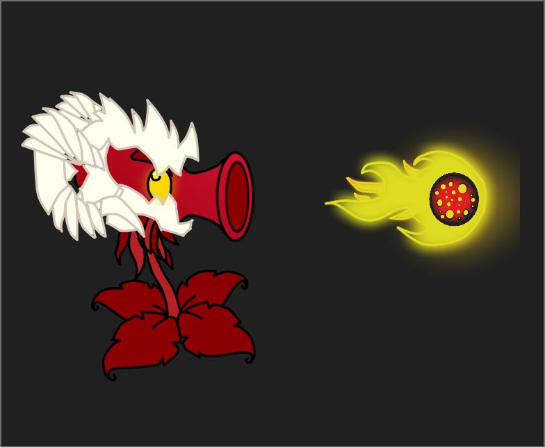 Hellfire Peashooter by BonziGaster