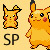 shiny pikachu icon by FlowerKirby
