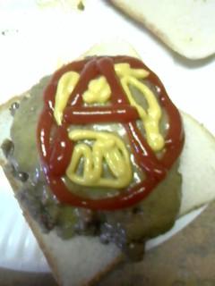 Anarchy Burger by VictoriaTriip