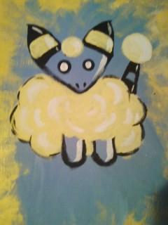 Mareep Painting by VictoriaTriip