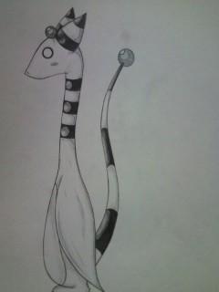 Ampharos Pencil by VictoriaTriip