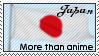 Japan: More than anime - stamp by NeverRegretMe