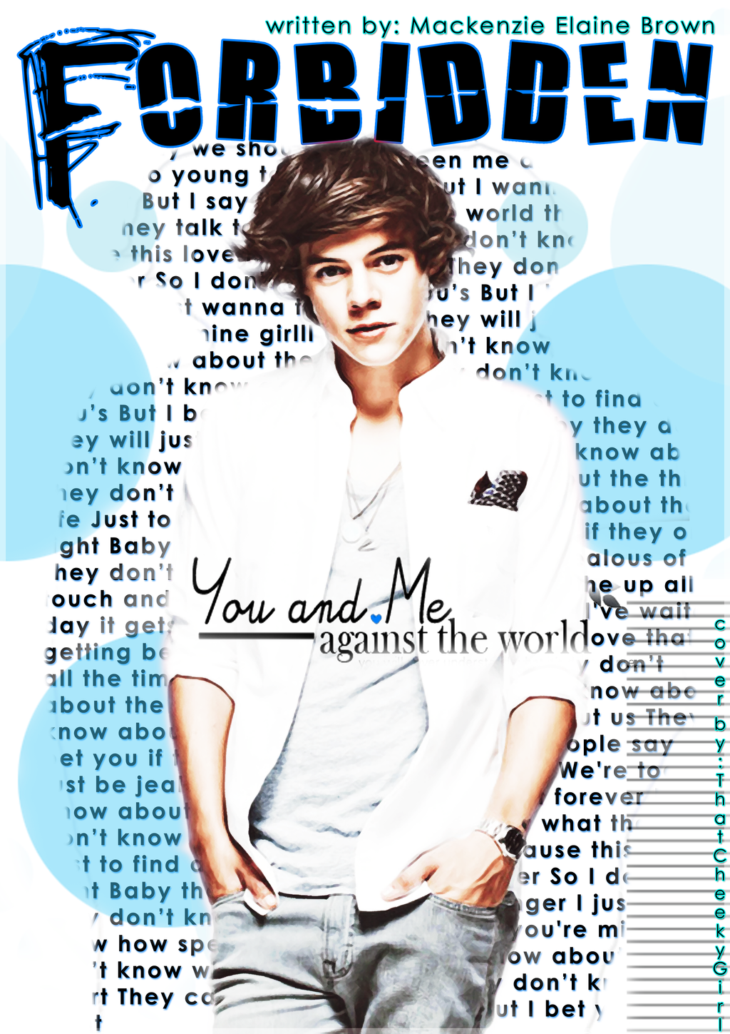 Forbidden-A Harry Styles Love Story [e-book cover] by NeverRegretMe on