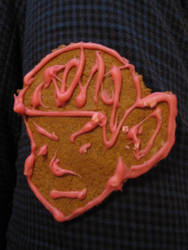 gingerbread cookie SPOCK by surrenderdammit