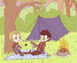 SPiRK camping