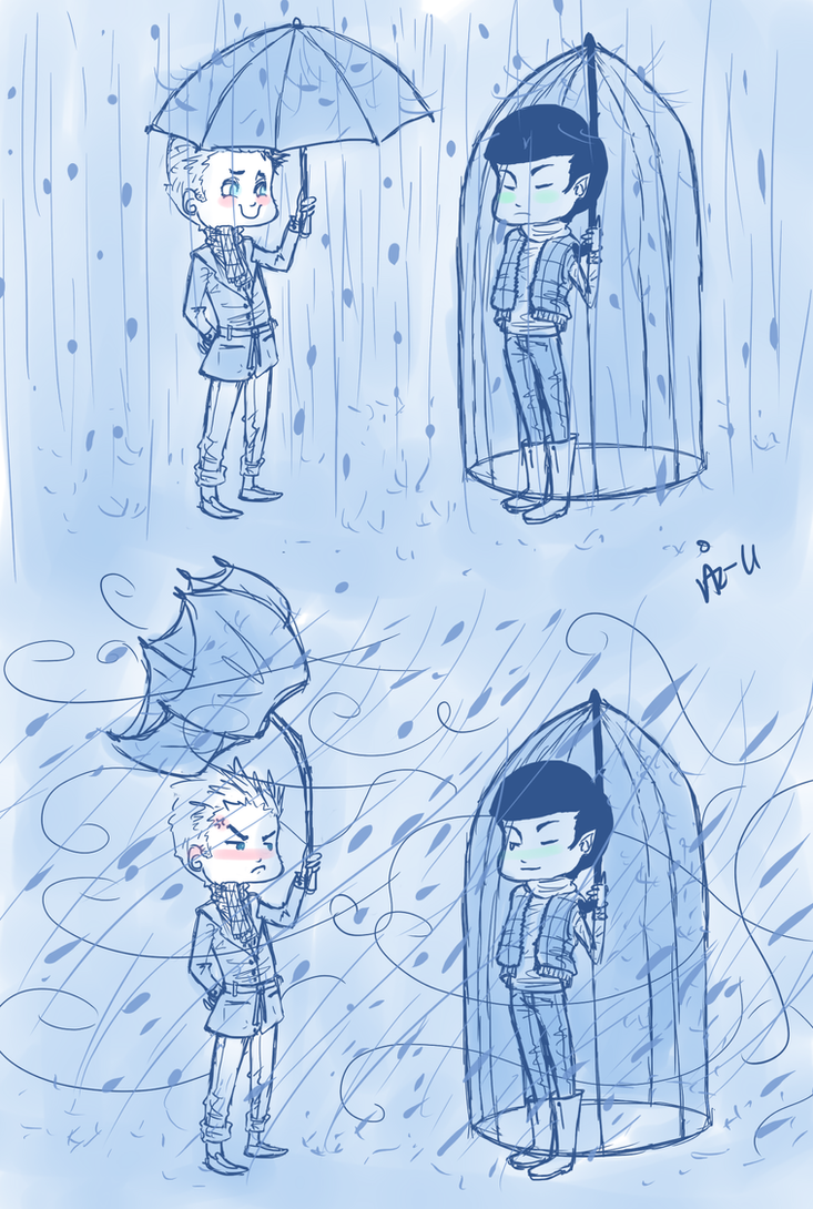 SPiRK - Rainy Date by surrenderdammit