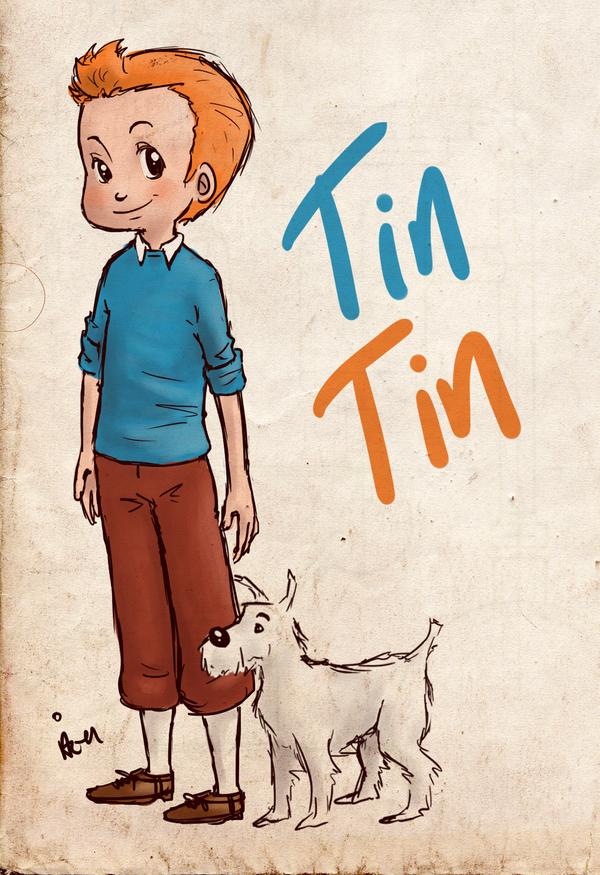 TinTin by surrenderdammit