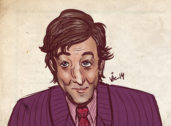 Stephen Fry -insert smiley here- by surrenderdammit
