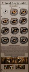 Animal Eye tutorial by Crystal-Eye