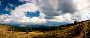 Clouds and Rain over Vladeasa by Diangos