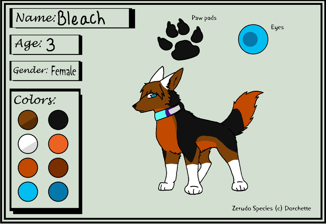 Bleach as a pup 2 by BleachTheNight