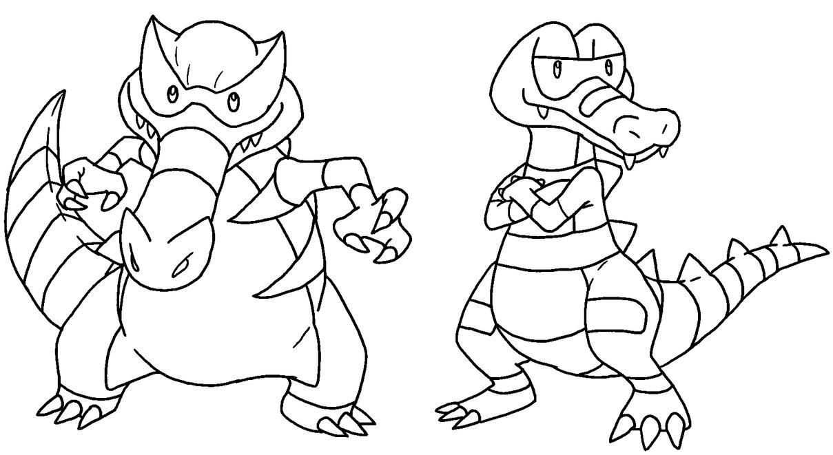 Pokemon Krokorok Coloring Pages