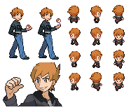 Jessie Jacobo Sprite Sheet by Ghrimm