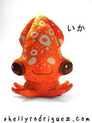 Ika Squid Plush