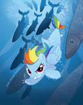 Rainbow Dash Merpony