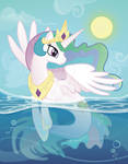 Princess Celestia Merpony