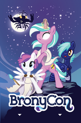 Bronycon 2015 Hotel Keycard Design