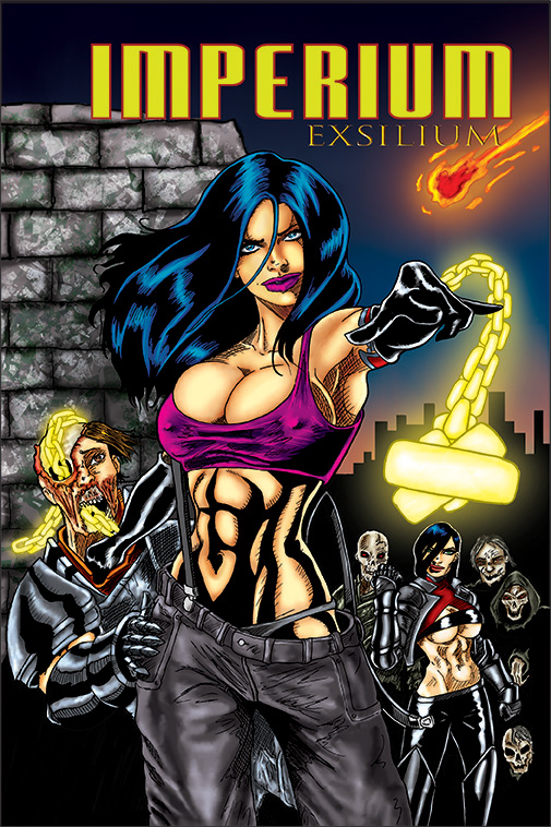 Imperium Exsilium cover by Evandion