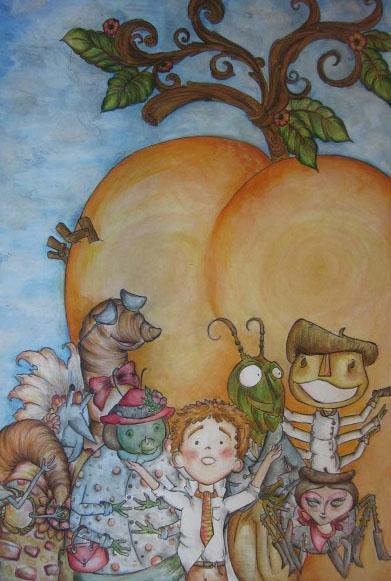James and the Giant Peach by hopefark