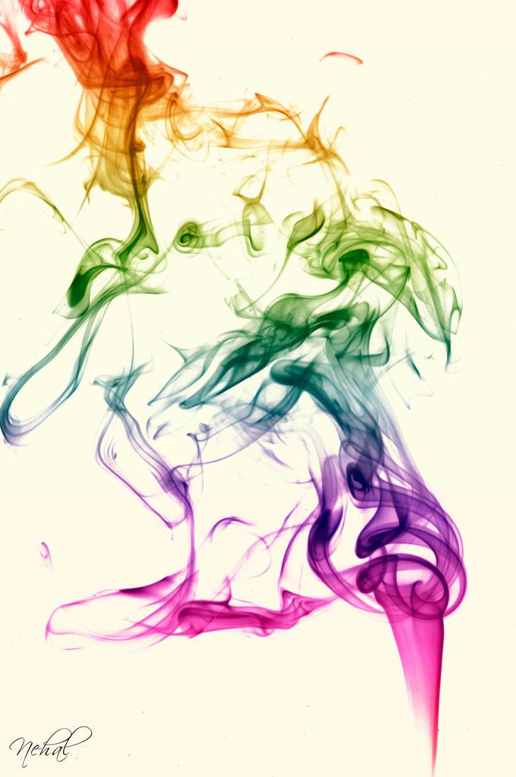 Colorful Smoke by nehalnassar