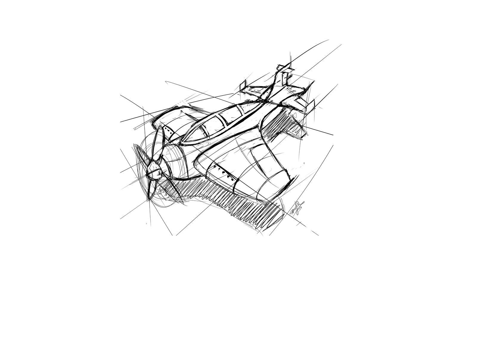 Plane Concept 2 by sao96