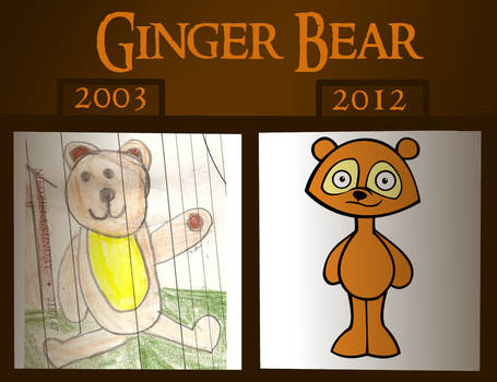 Comparison of Ginger Bear