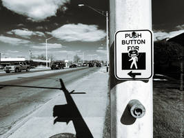 Push to Cross with Style by KBeezie