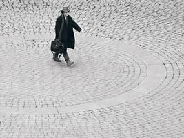 Courtyard walk - Top by KBeezie