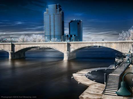 Grand River in Infrared