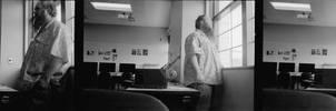 Expired (1972) Plus-X Film Test- Selfie