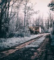 Kerosene Tank on the Trail (IR) by KBeezie