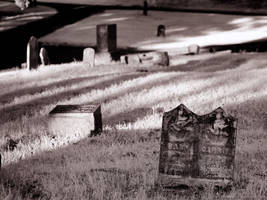 Greenwood Cemetery IV (930nm IR) by KBeezie