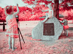 Sandy the Photographer (1/2 Infrared)