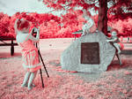 Sandy the Photographer (2/2 Infrared)