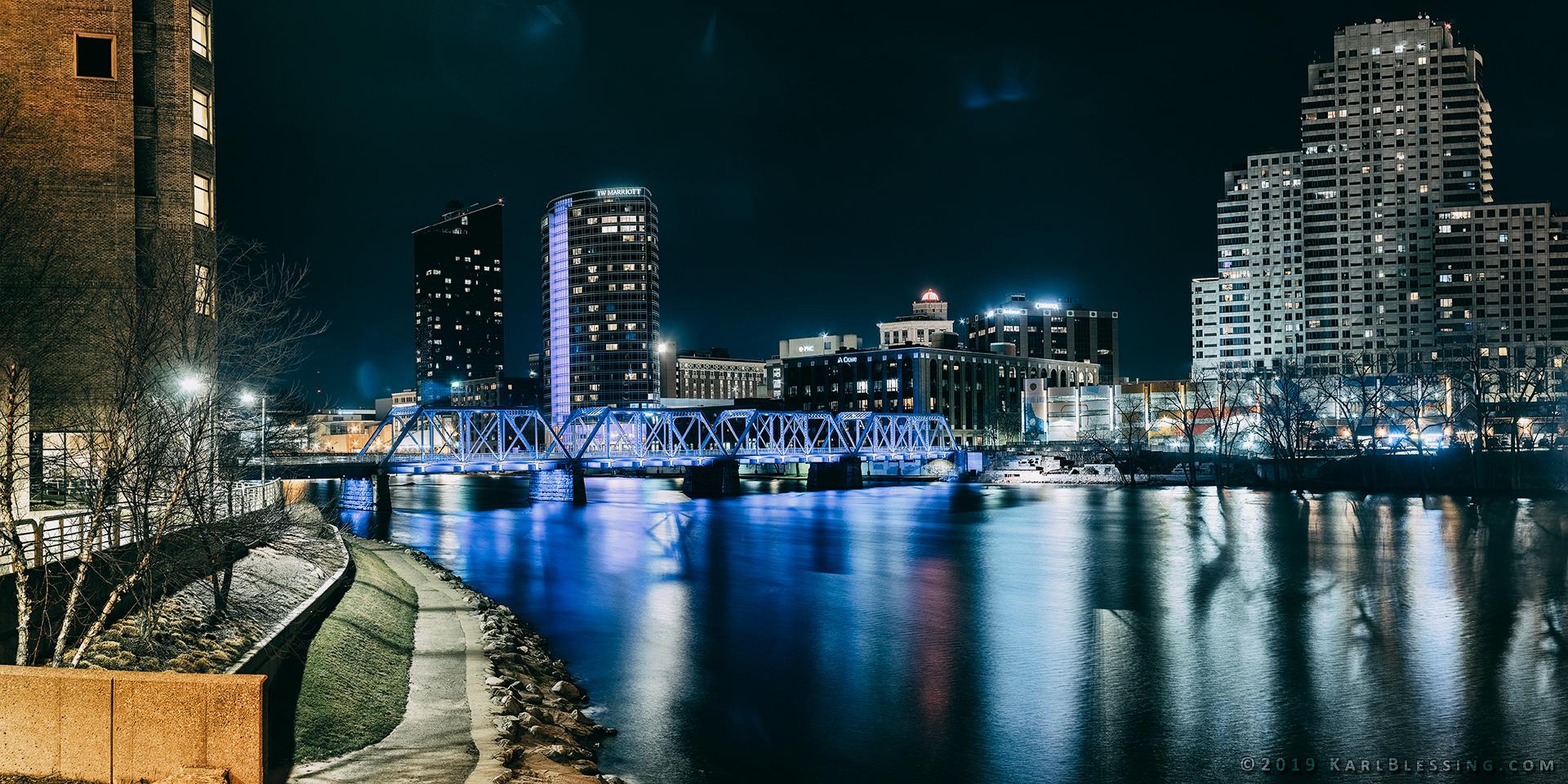 Downtown Grand Rapids (Panoramic HDR)