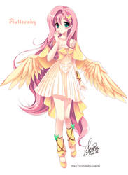 [MLP]Fluttershy of moe anthropomorphism