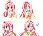 [MLP]Fluttershy -Facial Expression