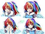 [MLP]RainbowDash -Facial Expression