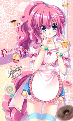 Pinkiepie's tea time with you