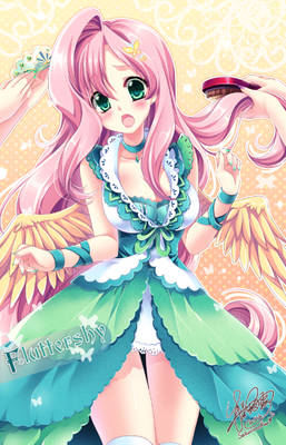 Fluttershy's dream of stardom meaning