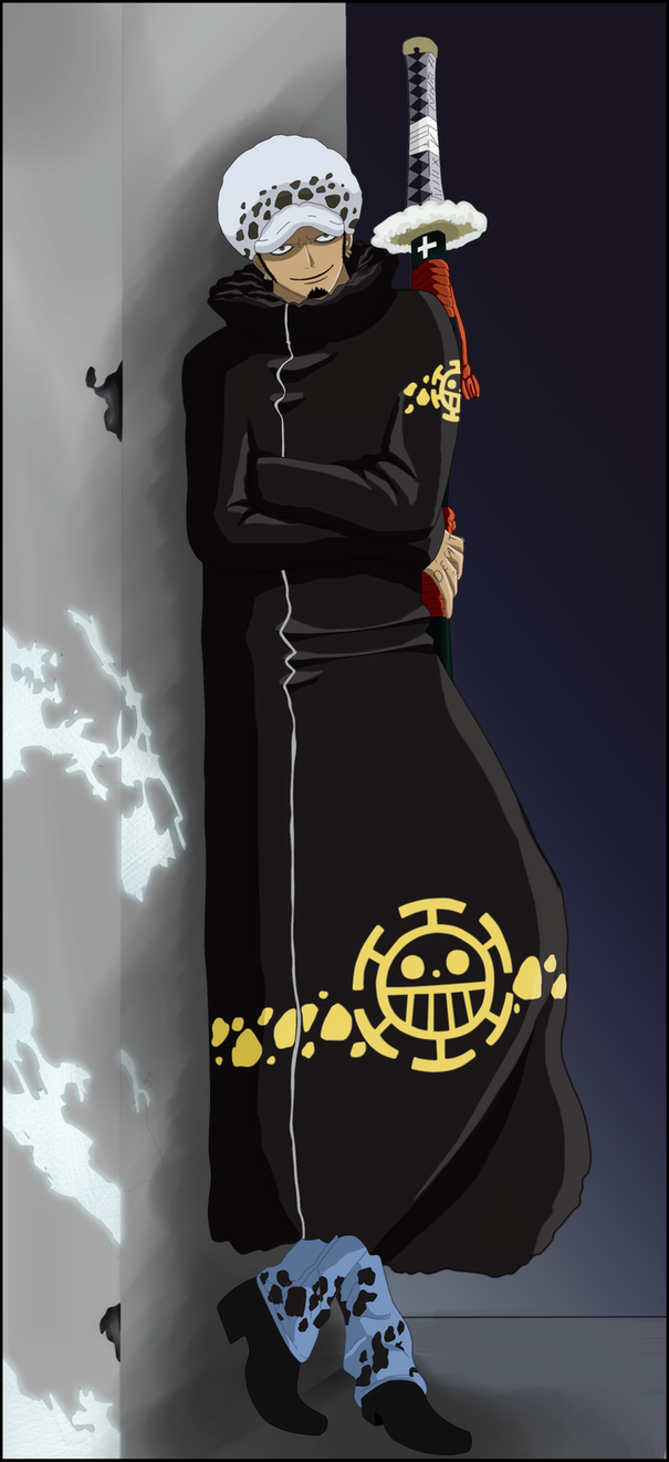 Shichibukai Trafalgar Law by lTHRl