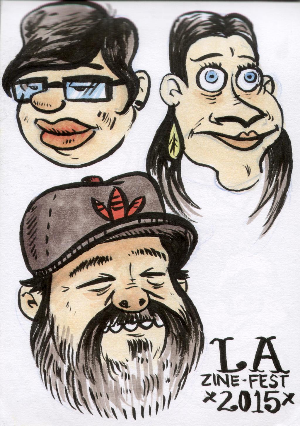 Sketch Zine15 by YourFathersMustache